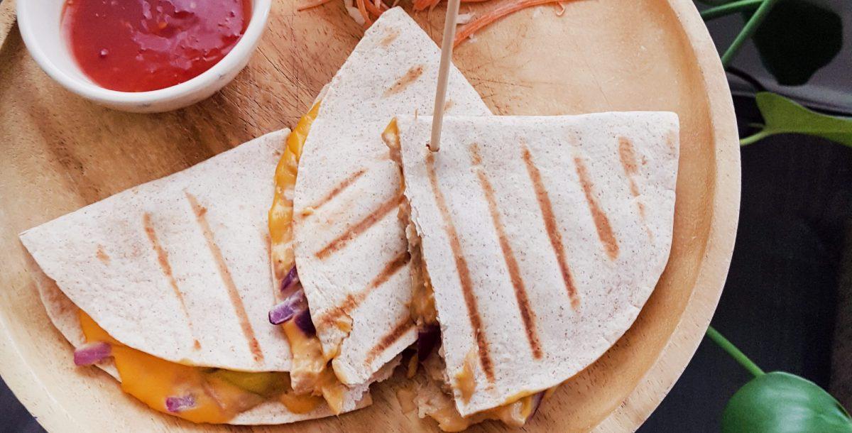 het recept voor de Melt for Tuna Quesadilla