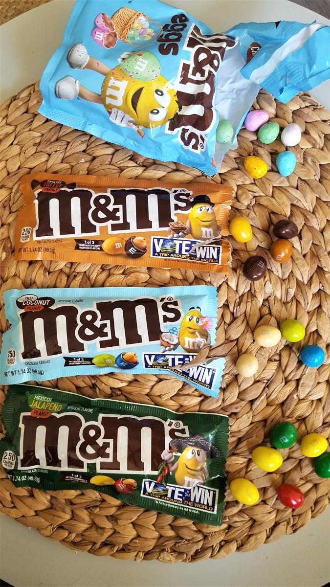 Getest: Gekke smaken M&M's ! (jalapeno toffee en thaise kokos?)